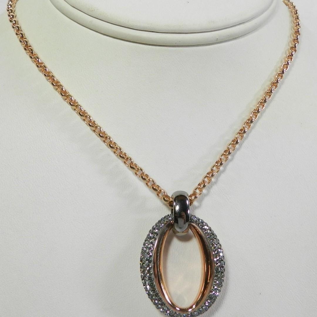0579f33765885 Swarovski Circlet Pendant Rose Gold # 5142818, with box (rrpHK$1200)