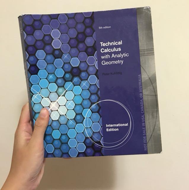 Technical Calculus 微積分 #出清課本