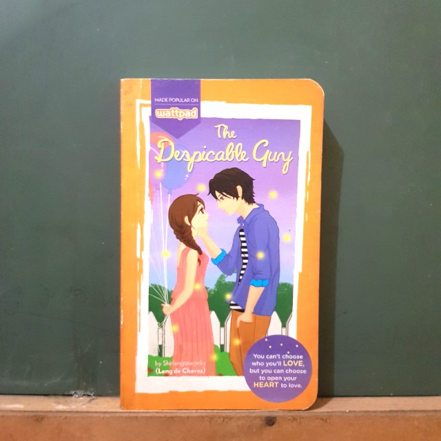 the despicable guy (wattpad/popfiction)