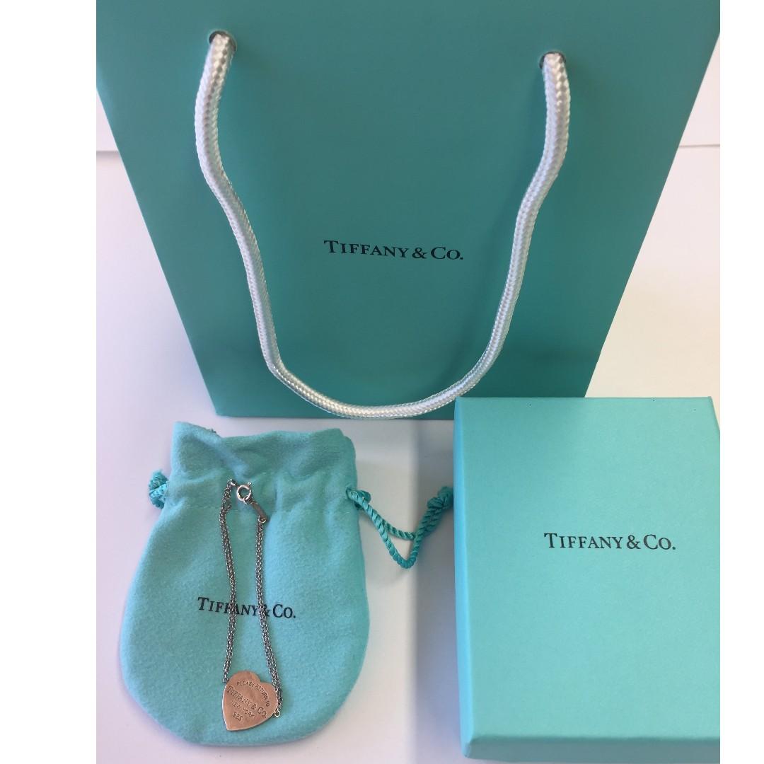 "Tiffany and Co ""Heart Tag Bracelet"""