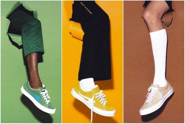 TYLER THE CREATOR X CONVERSE GOLF LE FLEUR 1:1 PREMIUM QUALITY SNEAKERS
