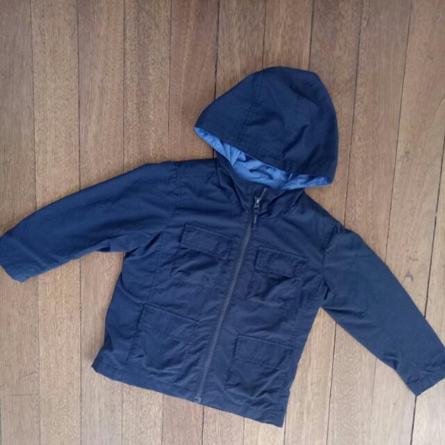 Uniqlo Hooded Jacket Coat