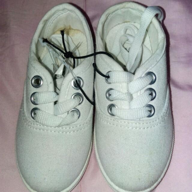 Unisex Toddler White Shoes