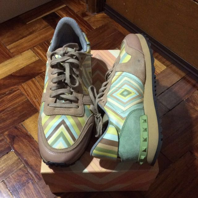 VALENTINO Garavani Sneakers Rubbershoes Designer Rockstud Rockrunner 41 10 11