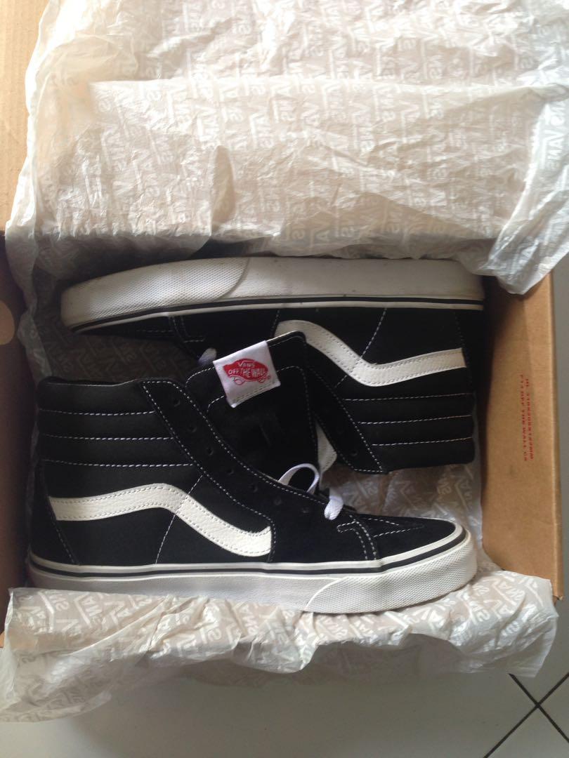 3b454236424859 Vans Oldskool SK8 Black White Size 40