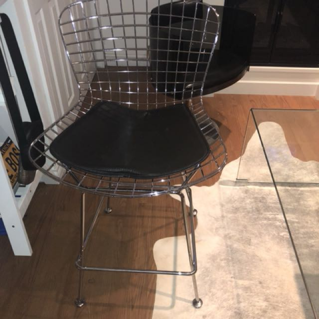 Wire Bar Chairs / Stools