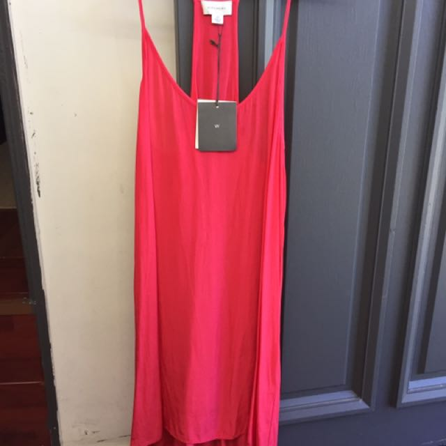Witchery coral dress