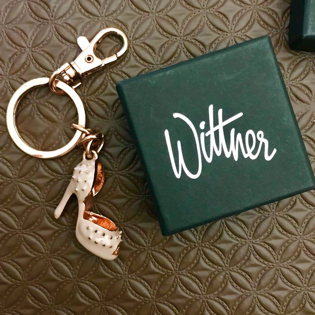 Wittner high heel key ring
