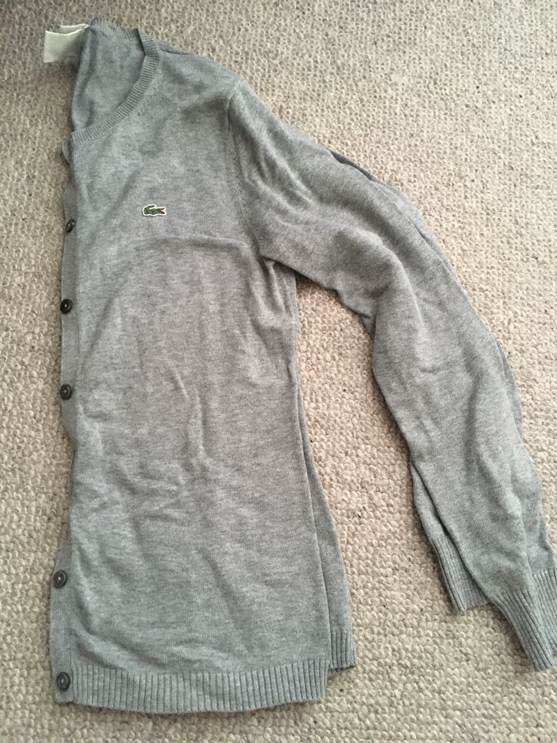 Women's Lacoste Cardigan Sz 38 (small)