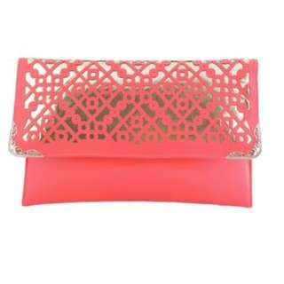 Clutch Metal Gold Pink