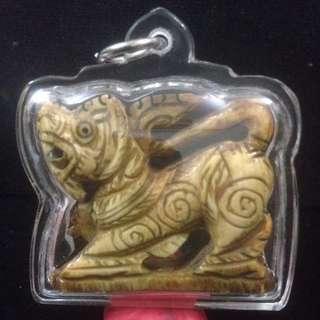 Thai Amulet ( Ivory)34mmx39mm