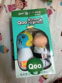 絕版Qoo保齡組合