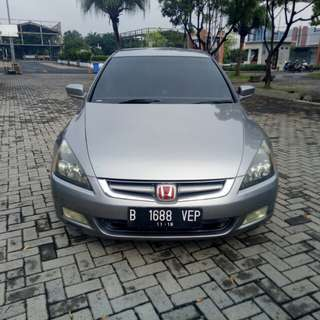 Honda accord vtl 2005 manual dp 7 juta
