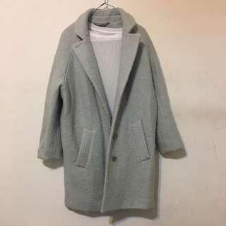 澳洲購入淺碧藍色大衣coat buy from Australia