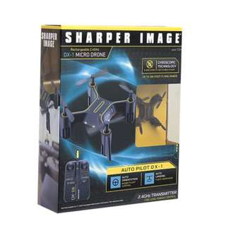 Sharper Image Rechargeable Micro Drone - DX-1 2.4 GHz