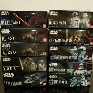 *Bundle Sales* Bandai Star Wars
