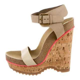 * reduced from $145 Stella McCartney wedges