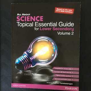 Lower Secondary - All about Science, Essential Guide