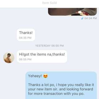 LEGIT SELLER! (Customer's Feedback) 💯🙏