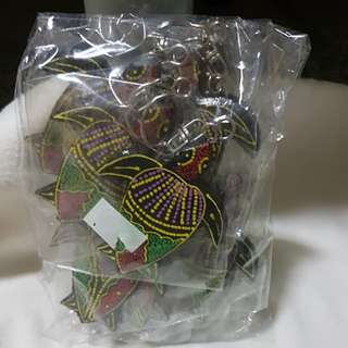 Turtles key chain gift set of a dozen
