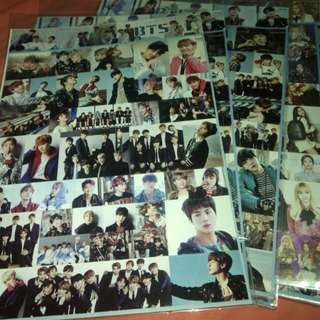 Kpop sticker(BTS,BLACKPINK,EXO,17)