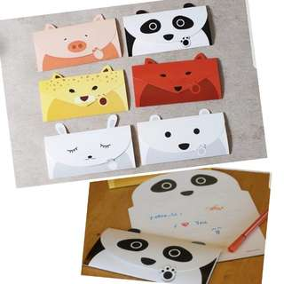 ( 3 for $5) Animal Card