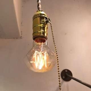 Vintage 燈泡連座