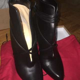 Leather Christian Louboutin heels / booties