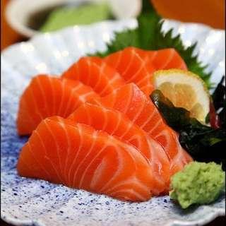 Fresh Salmon Sashimi (wholesale)