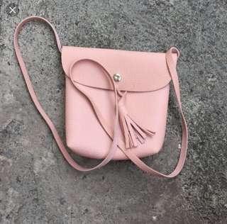 Sling Bag PASTEL PINK SLING BAG!!