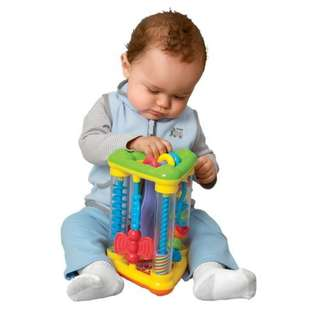 PlayGo Action Triangle Baby Rattle