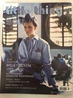 《Little Thing Magazine戀物誌》[香港版] 2011年10月號:你好,丹寧 *附立體跨頁