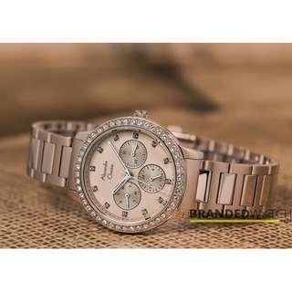 Jam Tangan Wanita Alexandre Christie 2691 BF Bronze Gold / Alexandre Christie 2691 / Jam AC 2691 / Jam AC Termurah /Jam Tangan Original