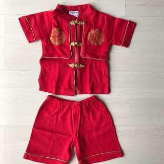 Baju Imlek Anak (Merah)