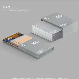 Onhand EXO SG 2018