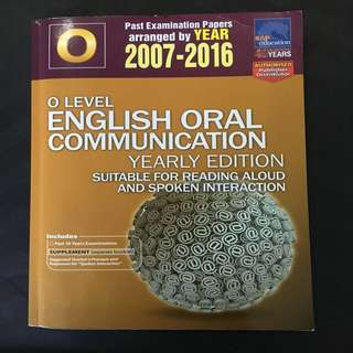 English Oral - GCE 'O' Level - Past Examination Papers