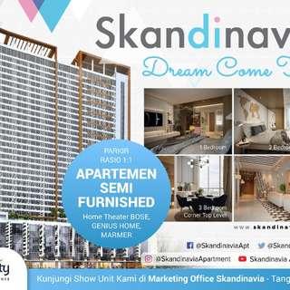 Skandinavia apartmen @ Tangcity superblosck konsep