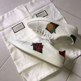 Gucci Ace embroidered sneaker (Fast Deal at $600)