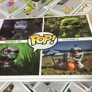 Funko World of Pop Volume 4 Photo Book