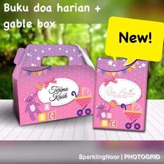 Buku doa set... ideal for baby's event doorgift/berkat