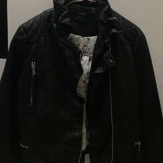 Zara girls biker jacket