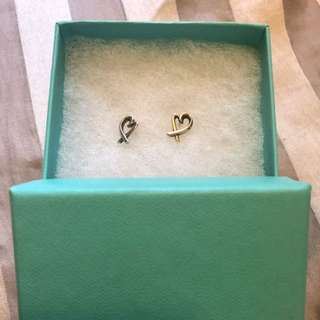 Tiffany 925 earrings with receipt