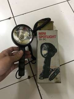 Mini spotlight