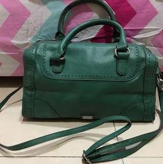 Mango green speedy bag