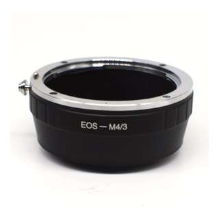 Canon EOS Mount to Micro 4/3 M43 Mount Camera Adapter (BRAND NEW)