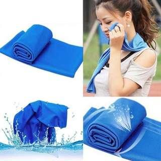 Sports Fitness Magic Rapid Cooling Towel
