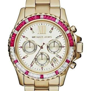 Michael Kors Everest Chronographic Gold Tone