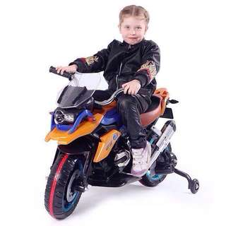 GS 1200 Mini Big Bike for Kids Toy in Orange Rechargeable