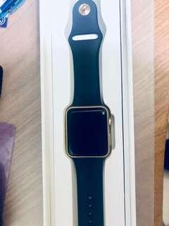 Apple Watch series 1 金色42mm