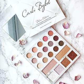CARLI BYBEL DELUXE EDITION 21 COLOR EYESHADOW & HIGHLIGHTER